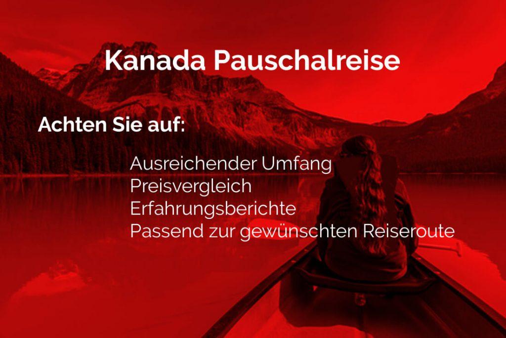 Kanada Pauschalreise Info