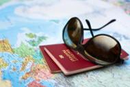 Kanada Visum auf Landkarte